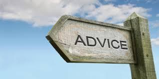 advice to follow