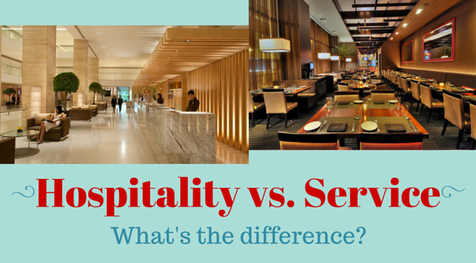 Hospitality vs Service